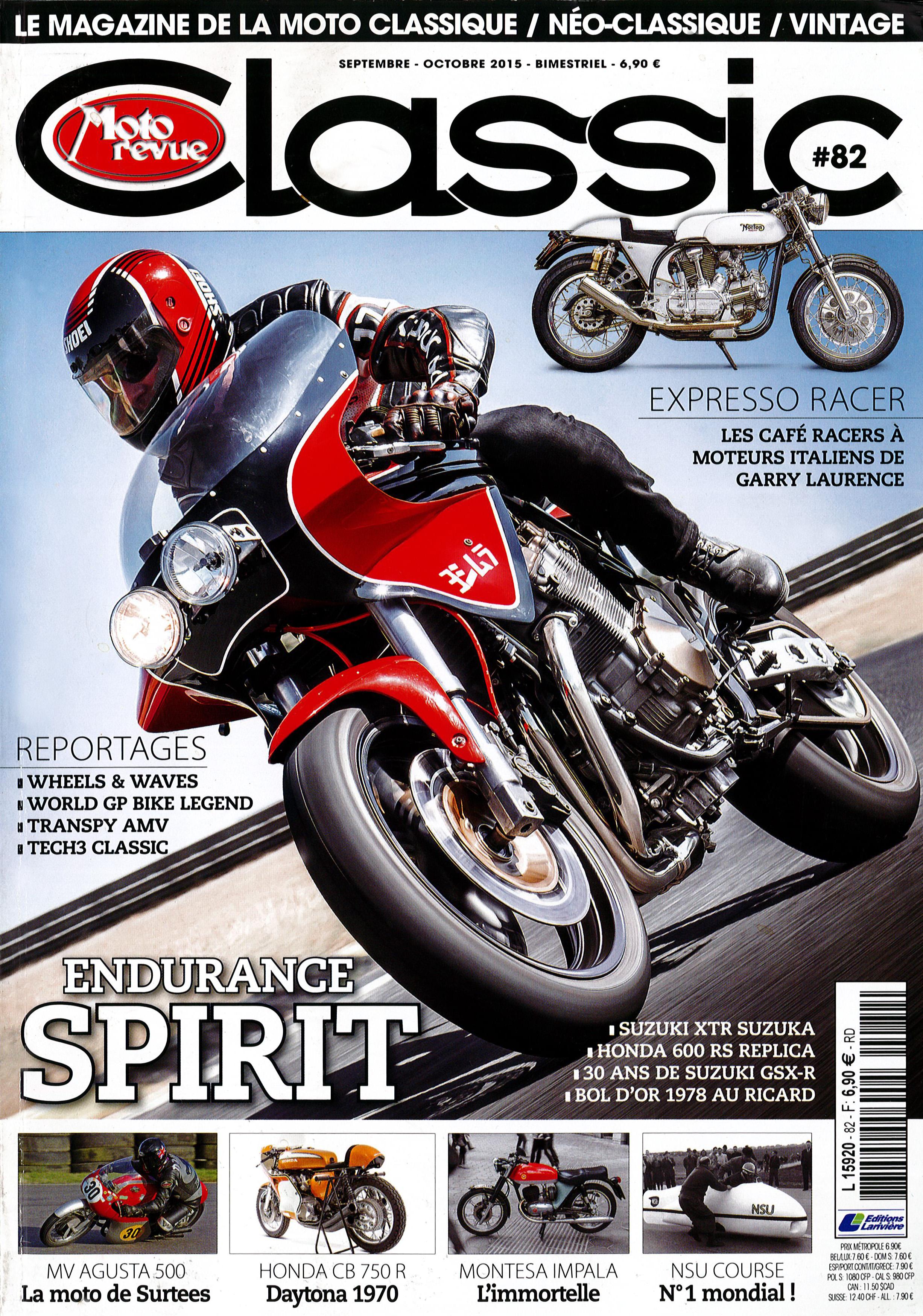 CLASSIC Moto Revue - settembre/ottobre 2015