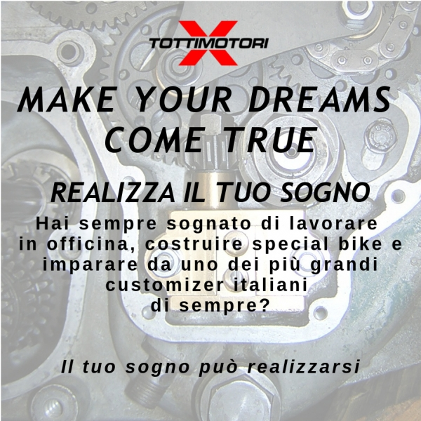 MAKE YOUR DREAMS COME TRUE - REALIZZA IL TUO SOGNO